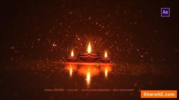 Videohive Diwali Opener 22717400