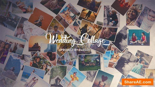 Videohive Wedding Collage
