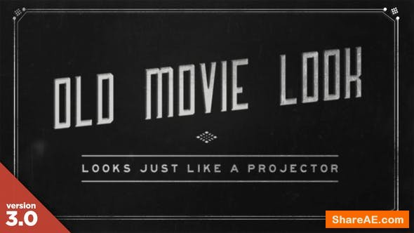 Videohive Old Film Titles