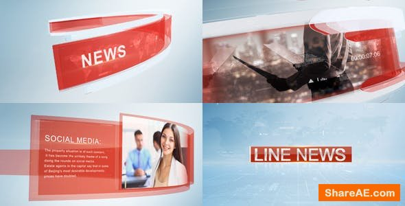 Videohive Line News 2