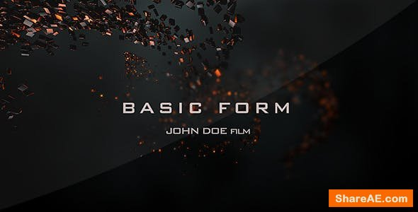 Videohive Basic Form - Movie Titles