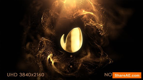 Videohive Particle Elegance Logo Intro