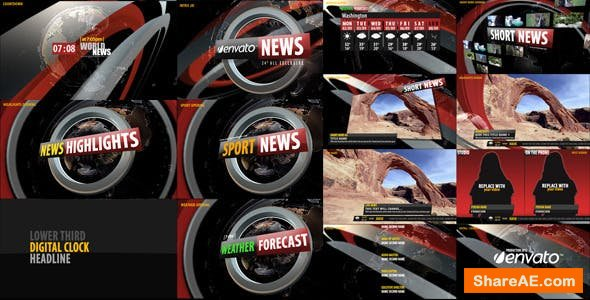 Videohive News Broadcast Design