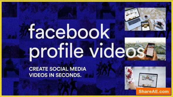Videohive Facebook Profile Videos