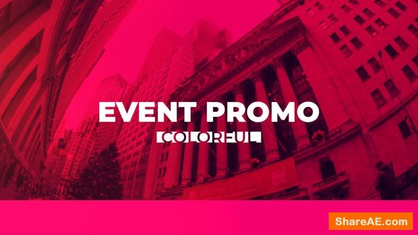 Videohive Colorful Event Promo 22915757