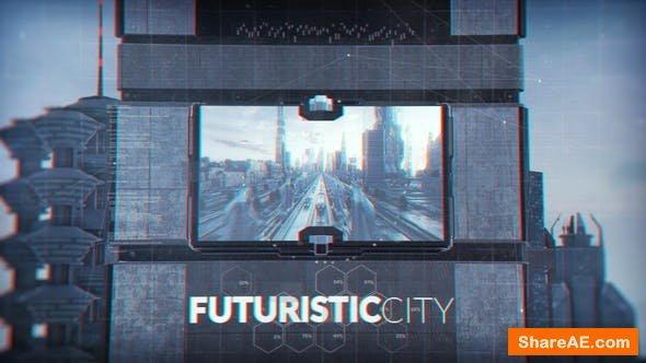 Videohive Futuristic City