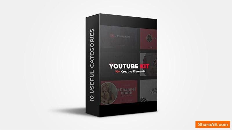 Youtube Starter kit - After Effects - Flatpackfx