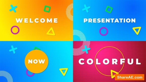 Videohive Color Typography Stomp