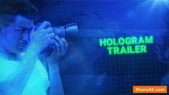Videohive Hologram Trailer