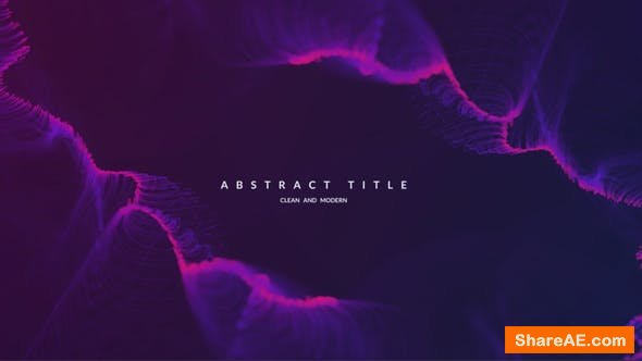 Videohive Abstract and Modern Titles