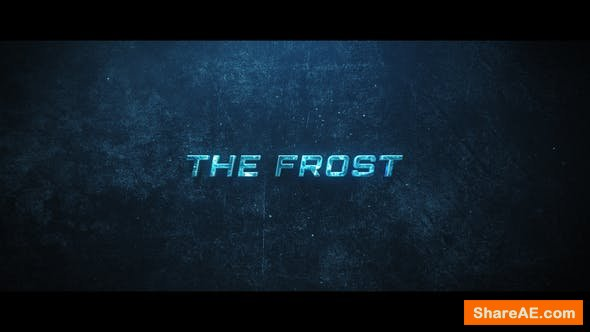 Videohive The Frost Trailer