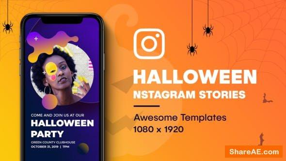 Videohive Halloween Instagram Stories 24905384