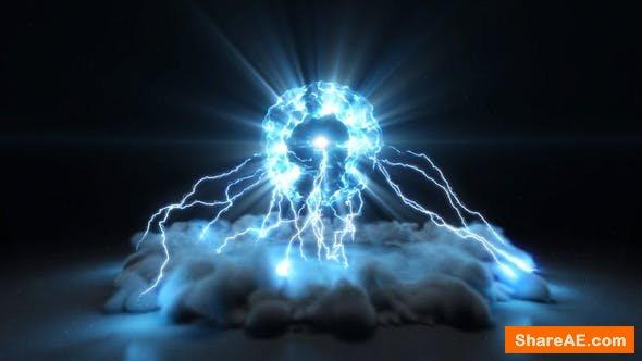 Videohive Lightning Burst Logo