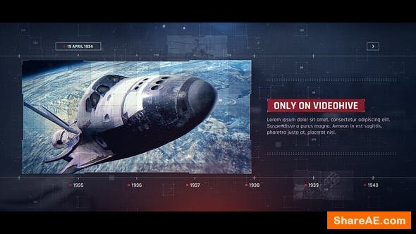 Videohive Digital Technology Timeline