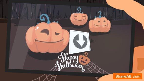 Videohive Funny Pumpkins - Halloween Intro
