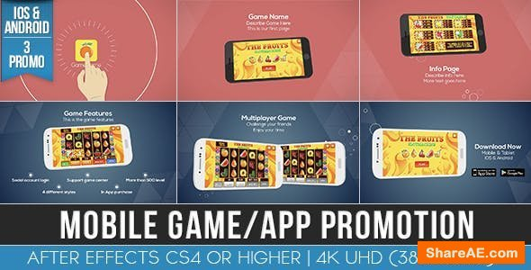 Videohive Mobile Game / App Promotion