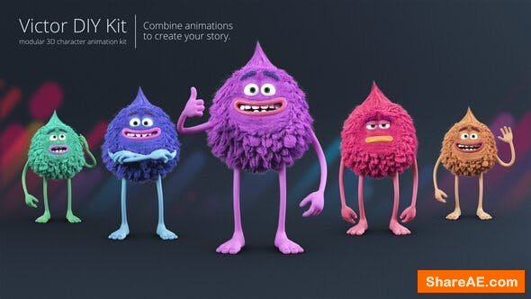 Videohive Victor - Character Animation DIY Kit