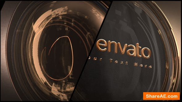 Videohive Gold 3D Logo
