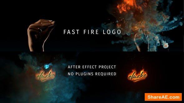 Videohive Fast Fire Logo