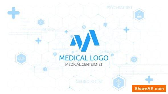 Videohive Medical Logo Reveal