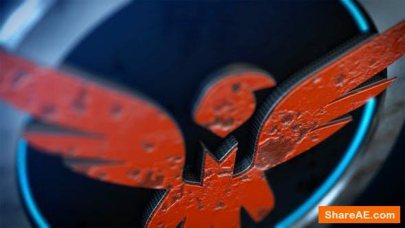 Videohive 3D Paint Logo Reveal