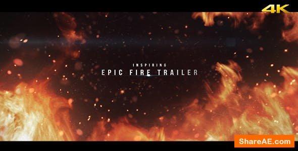 Videohive Epic Fire Trailer