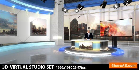 Videohive Multipurpose Virtual Studio 1