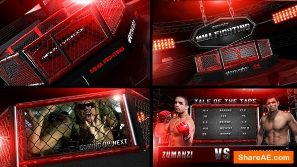 Videohive Mma Fighting 2