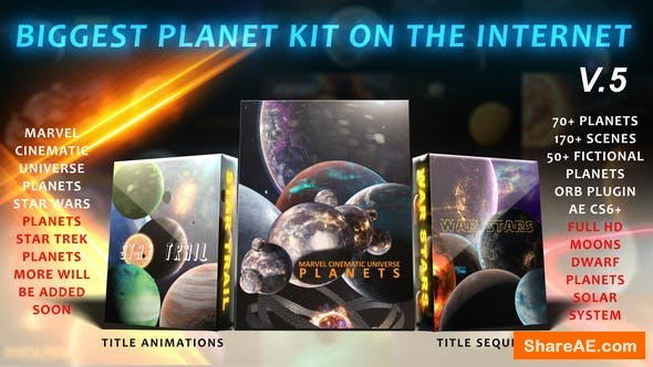 Videohive Biggest Solar System Kit On The Internet V.5