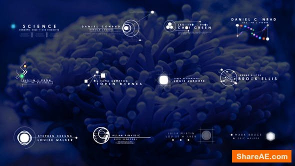 Videohive Science Fiction Lower Thirds