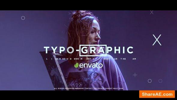 Videohive Dynamic Typographic Opener 24764178