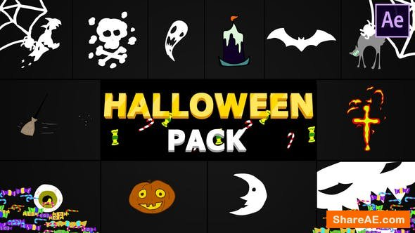 Videohive Halloween Elements | After Effects