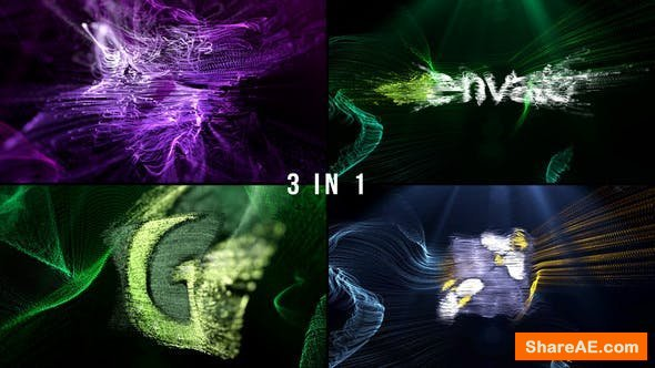 Videohive Logo Formation Audio React
