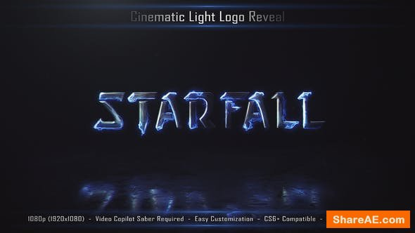 Videohive Cinematic Light Logo Reveal 3