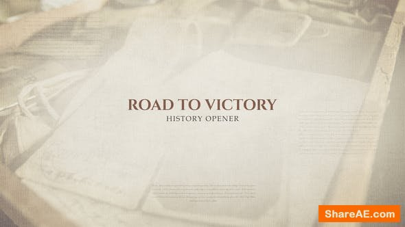 Videohive Road To Victory