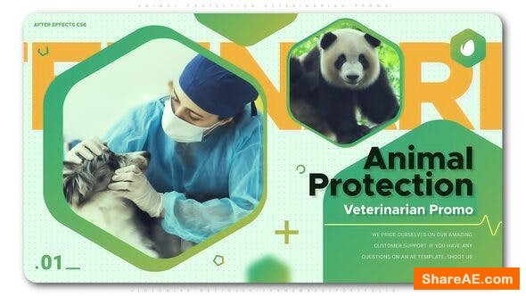 Videohive Animal Protection Veterinarian Promo