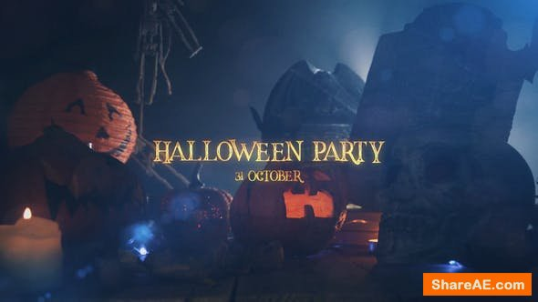 Videohive Halloween Party Slideshow