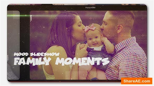 Videohive Happy Family Moments Slideshow