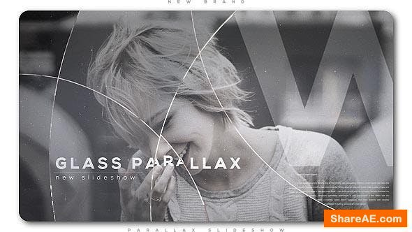Videohive Glass Circles Parallax Slideshow