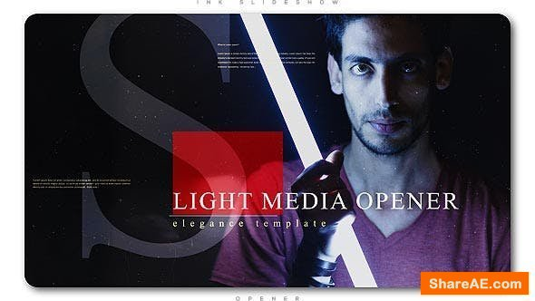 Videohive Light Media Opener | Slideshow