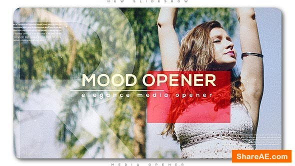 Videohive Mood Media Opener | Slideshow