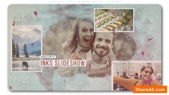 Videohive Perfect Inks Memories Slideshow