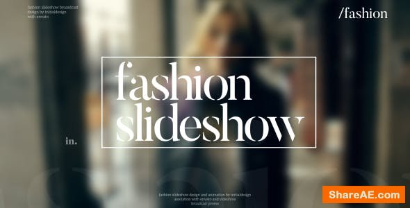 Videohive Fashion Slideshow 15763308
