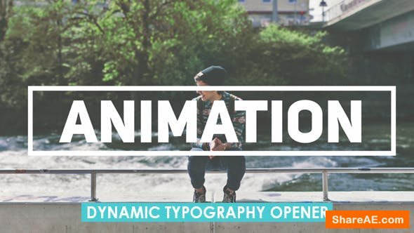 Videohive Dynamic Typography Opener 19917655