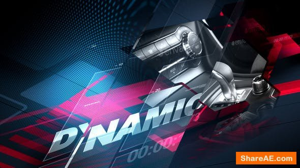 Videohive Auto Moto Show - Broadcast Pack