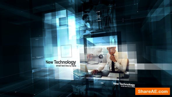 Videohive Contemporary Visual Technologies