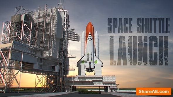 Videohive Space Shuttle Launch