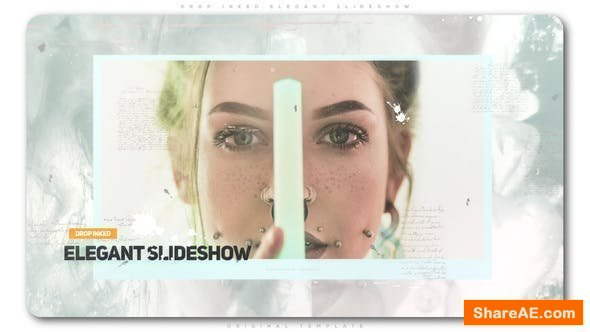 Videohive Drop Inked Elegant Slideshow