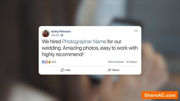 Videohive Facebook Post