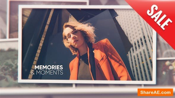 Videohive Photo Slideshow // Memories and Moments